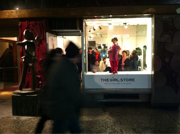 The Girl Store: Too Provocative or not enough?